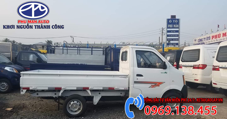 Dongben 1021 thùng lửng 870Kg
