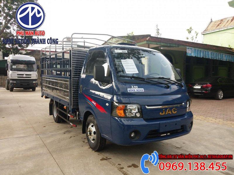 Jac X150 1t5 Tấn Thùng Bạt