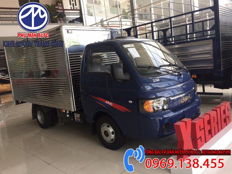 Jac X150 1t5 Tấn Thùng Kín