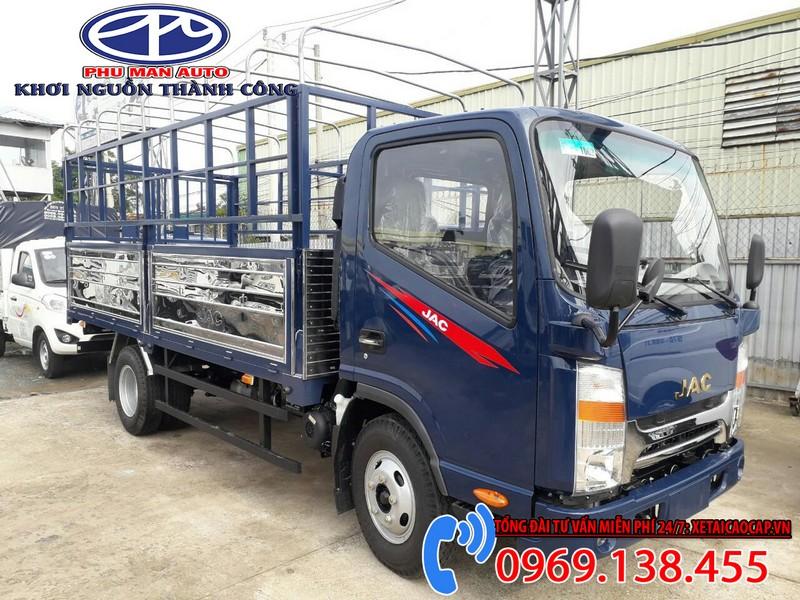 xe tải 1t9 - jac n200 - thùng 4m3 - Máy isuzu
