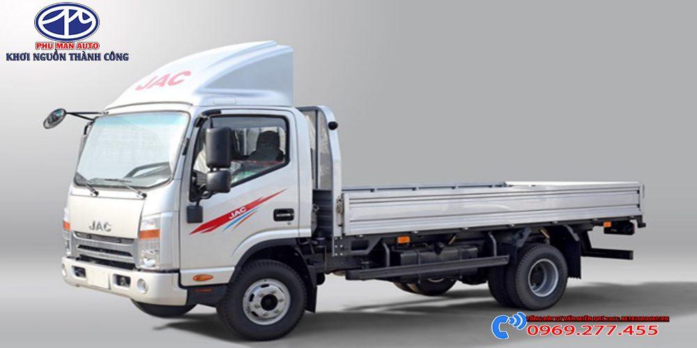 Xe tải Jac 1t9 Đầu Vuông Thùng Lửng