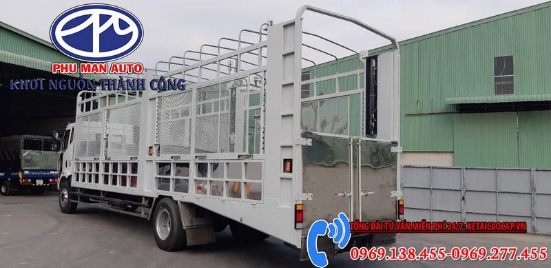 Xe Chở Ô Tô Con 2 Tầng Faw Thùng 10 Mét 2020