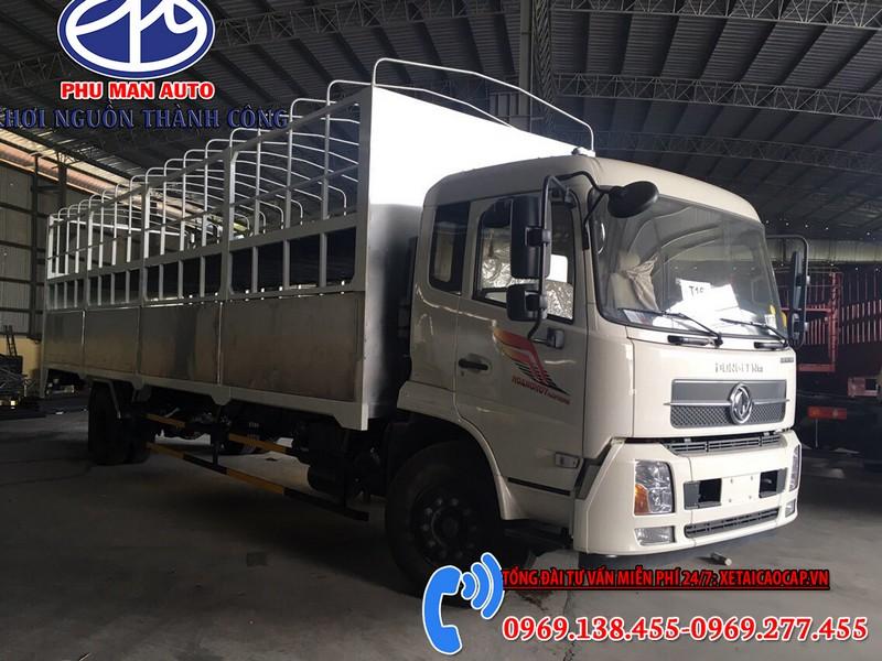 Xe Tải Chở Xe Máy 2 Tầng Dongfeng Thùng 10M