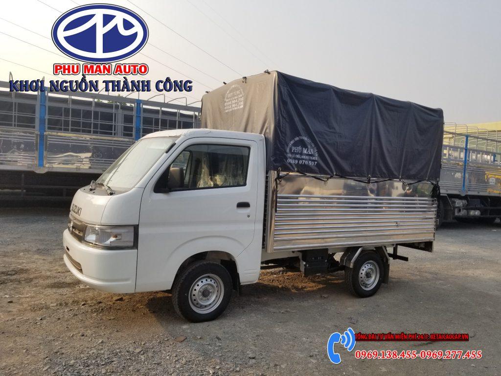 XE TẢI SUZUKI 750KG CARRY PRO MỚI 2020