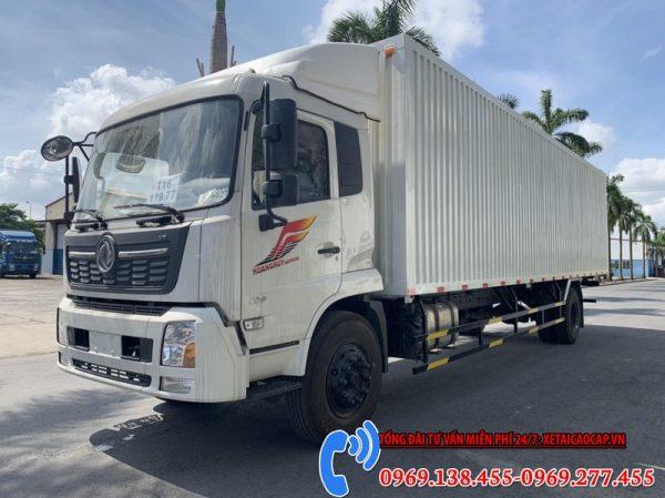 Xe Tải Dongfeng Hoàng Huy Thùng Container Chở Pallet