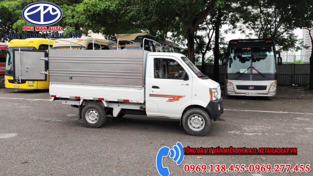 Xe Tải Dongben K9 990Kg Thùng Bạt