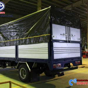 Xe Tải Vinamotor CabStar Ns200 1.9 Tấn Thùng Bạt