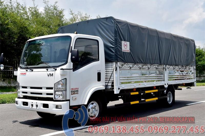 xe tải isuzu 1t9 thùng dài 6m2