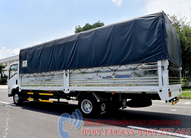 xe tải isuzu 3t5 thùng dài 6m2