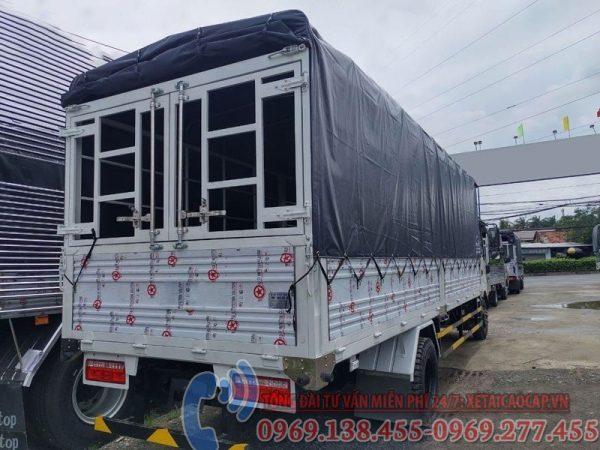 xe tải veam 3t5 thùng dài 6m2