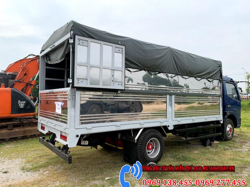Xe Tải Vinamotor K6 5T5 – Thùng Bạt