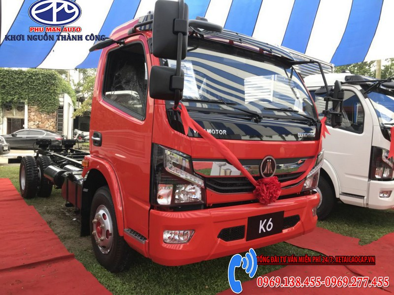 Xe Tải Vinamotor K6 – Máy Nissan