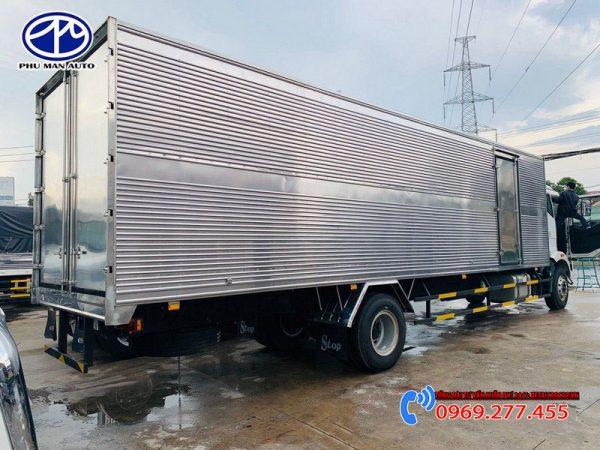 thùng kín xe tải 8 tấn