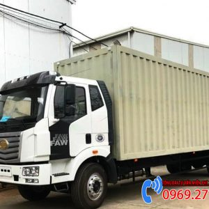 xe tải faw thùng container