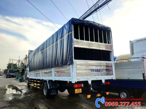 xe tải thùng dài