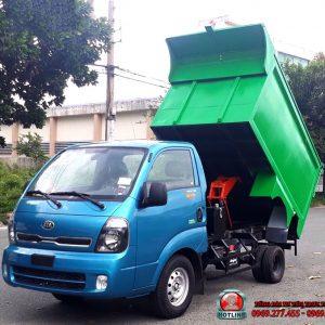 xe chở rác kia 4 5 khối